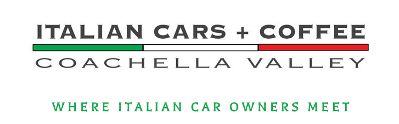 Italian Cars + Coffee | Coachella Valley